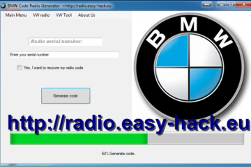 bmw radio code calculator generator free stereo code
