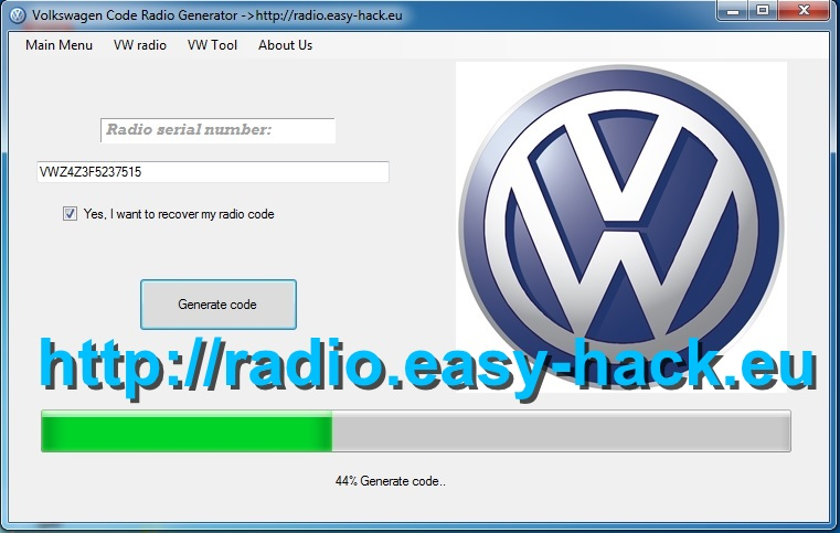 How to Get VW Radio Code Free Polo,Golf,Passat,Bora,Lupo