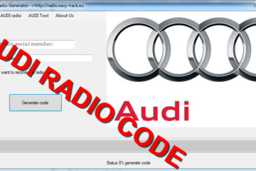 how to get your audi stereo code for a1, a2, a3, a4, a5, a6, a7 and tt to get out of read safe mode