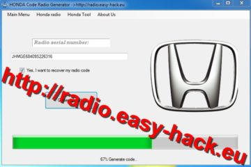 How To Get Honda Radio Unlock - honda radio code free