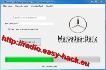 Mercedes Radio Code unlock