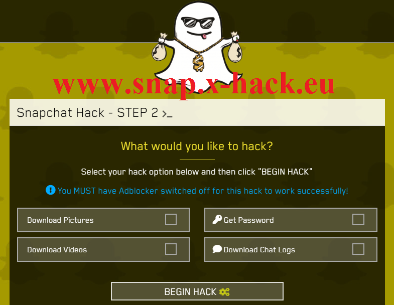 How to hack someones Snapchat Password