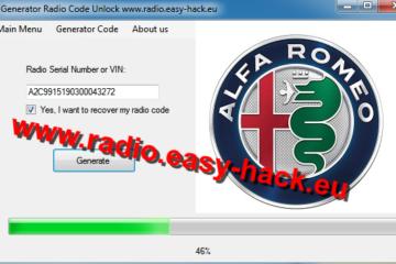How to get your Alfa Romeo Radio Code calculator