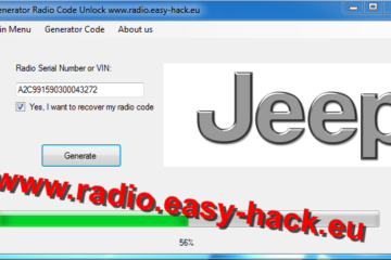 jeep radio code calculator free download