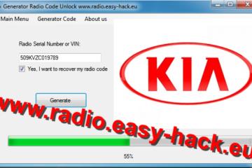 Kia security code – KIA unlock Radio Code calculator