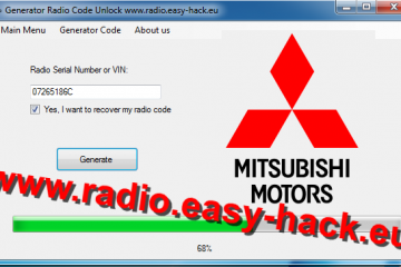 Mitsubishi Radio Code Generator Find Your Radio Security Code