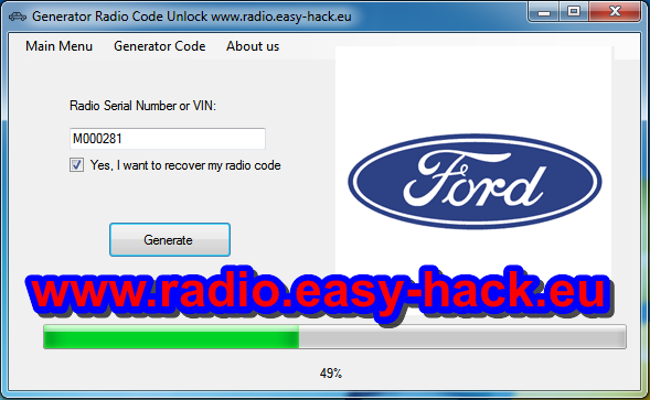 How to Ford Radio Code | Fiesta | Focus | Transit | Any [Free unlock