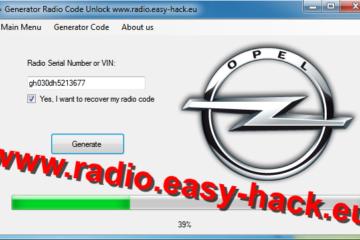 unlock Opel radio – OPEL CAR RADIO CODES CALCULATOR