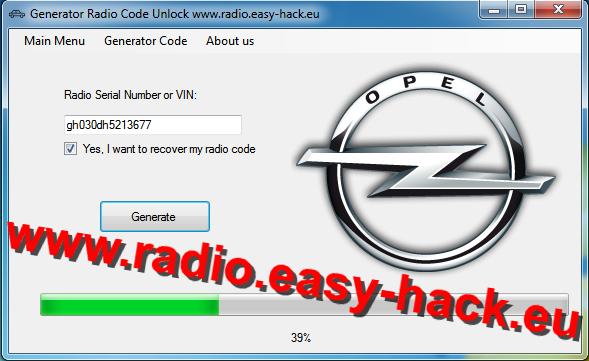 How to unlock Opel radio - OPEL CAR RADIO CODES