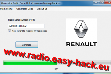 Get unlock code for your Renault radio – free Renault Radio Codes decode