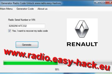 nlock code for your Renault radio – free Renault Radio Codes decode