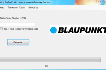blaupunkt radio code generator free