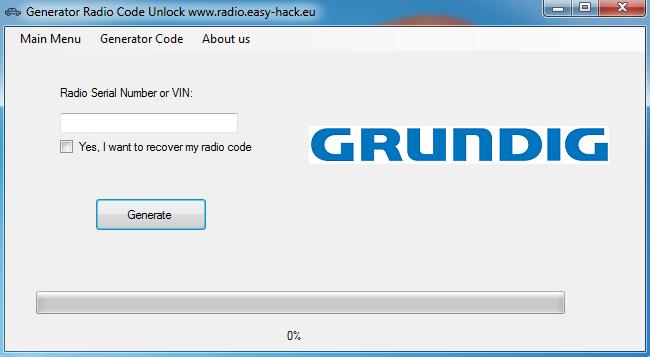 GRUNDIG CAR 2002 RADIO CODES - Grundig Radio Code Generator free