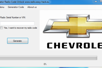 Chevrolet radio code Unlock Any Car generator free