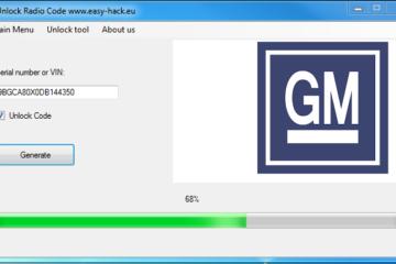 GM radio code